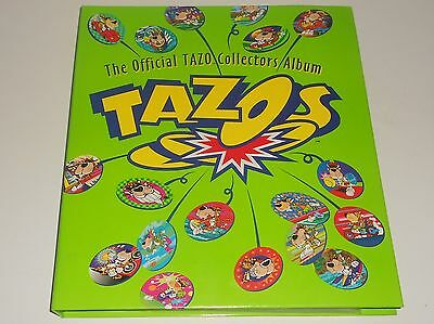 1990s TAZO Folder with lots of Complete Sets + Slammers & Extras