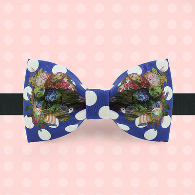 Cotton Bow Tie  Handmade Party Bow Ties With Gift Box Customized Made Acceptable