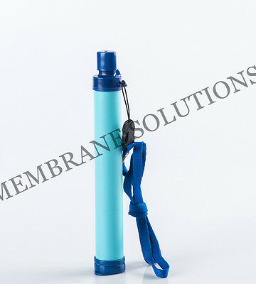 Outdoor Camping/Hiking Portable Safe Water Purifier Filter Survival Straw 99.99%