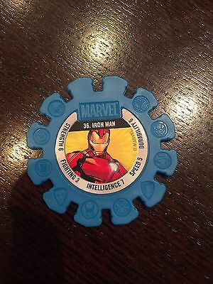 Iron Man  Marvel Woolworths Disc No. 36