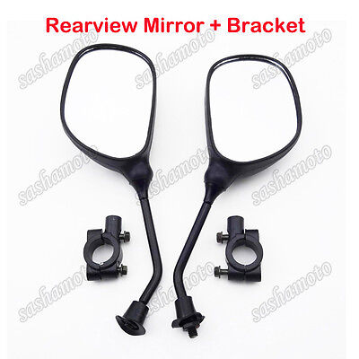 Rearview Mirror Bracket Holder Clamp 8mm ATV Pit Dirt Bike Motorcycle Scooter