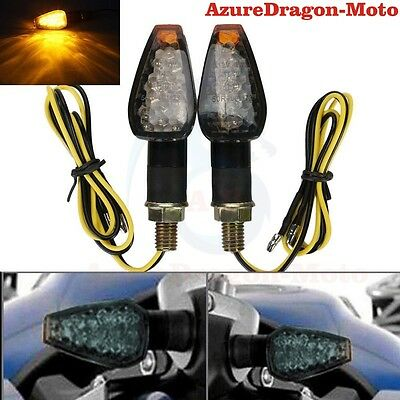2x LED Turn Signal Light Blinker Indicator Like For Kawasaki Suzuki Honda Yamaha