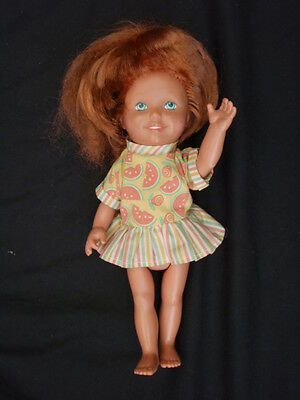 Vintage Dolly Party Surprise Playskool 1987 Grow Hair Doll