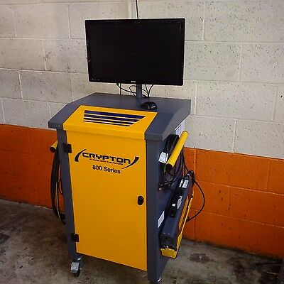 Exhaust Gas Analyser Crypton 800 Blue Tooth MOT 2 Years Old Perfect Working