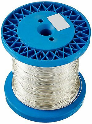 RAYHER 2410300 Silver Wire with a Copper Core – 1 kg spool – 0.80 mm, 210 m