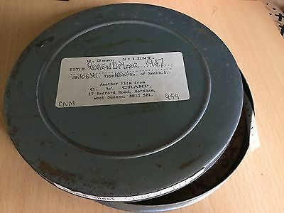 """9.5mm PATHESCOPE SILENT FILM REEL """"REVIEW OF THE YEAR 1947"""""""