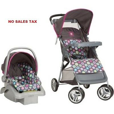 Infant Travel System, Baby Stroller and Car Seat Set Toddler  Multiple Finish
