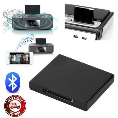 Wireless Bluetooth Music Receiver Adapter for iPhone iPad iPod Dock Bose Speaker