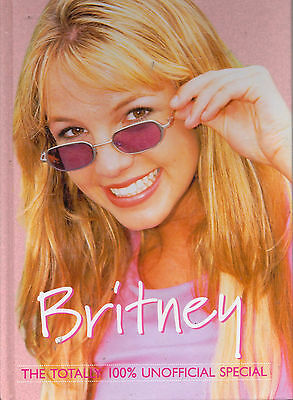 Britney Spears The Total 100% Unofficial Special Annual- Memorabilia