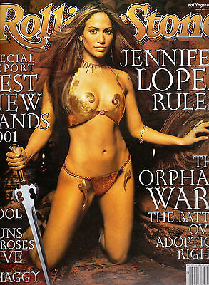 Rolling Stone February 2001 - Jennifer Lopez. Shaggy. George Harrison. Adoption