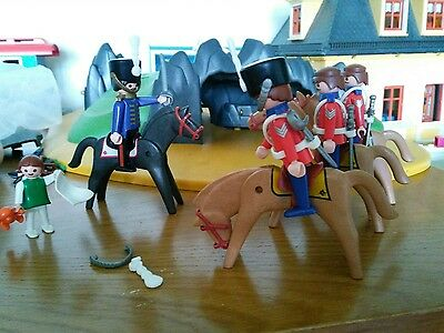 playmobil 5580 vintage victorian calvery horse and soldiers