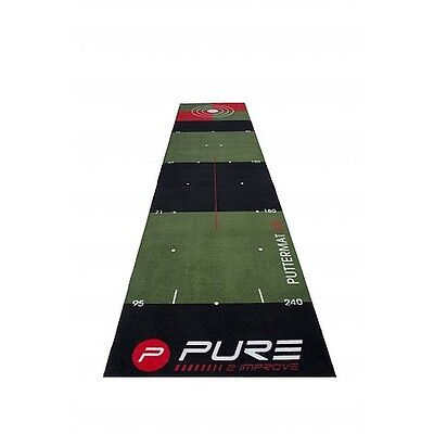 Pure2Improve 3 Metros (9.84 Base) Golf Putting Esterilla