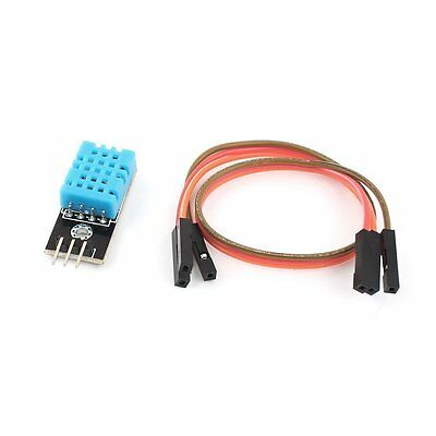 DHT11 Temperature and Relative Humidity Sensor Module +PCB With Cable Compatible