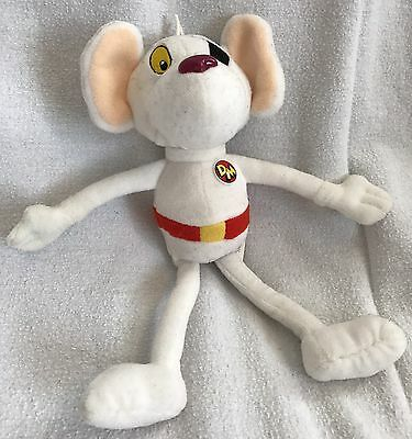 """Danger Mouse 9"""" Tall Plush Toy Cosgrove Hall Penfold Barron Greenback"""