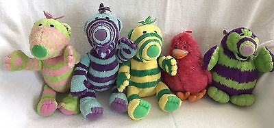 Fimbles Soft Plush Toy Set Fimbo Florrie Baby Pom Roly Mo Bessie Lot