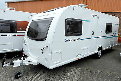 Brand New 2017 Bailey Pursuit 530 - 4 Berth Fixed Bed End Washroom