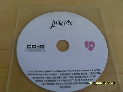 LITTLE MIX KARAOKE DISC CD+G backing track