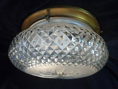 Victorian/ Edwardian Crystal Ceiling Light