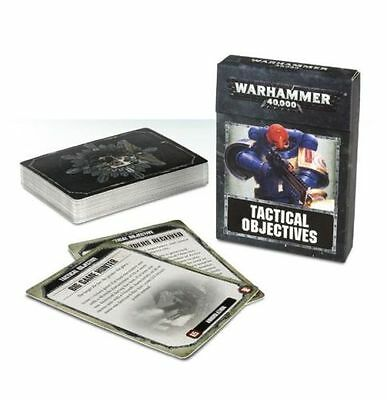 Warhammer 40,000 8th Edition Tactical Objectives Cards - BNIB
