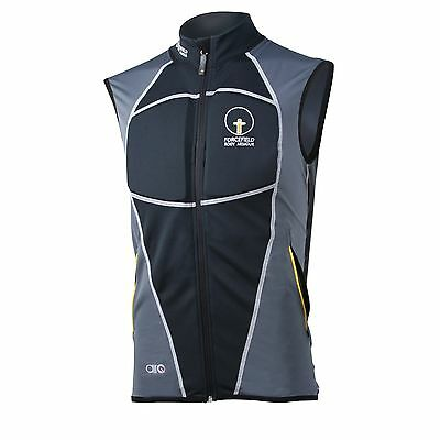 Forcefield Airo Vest with L2 Back and Chest Insert Sleeveless Protection Zip Top