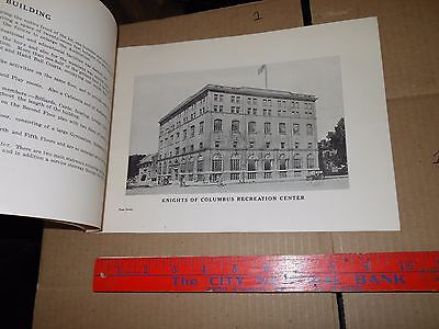 KNIGHTS OF COLUMBUS ohio 1922 photographs information council 400 map floors