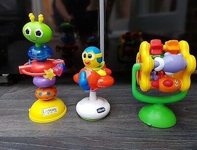 Super Bundle of Baby Highchair Toys