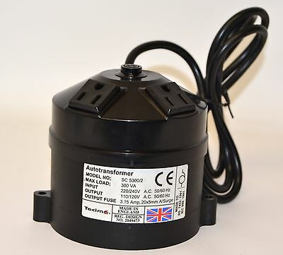 Tacima Autotransformer USA To UK Converter - 2525