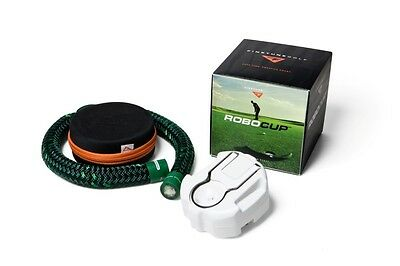Robocup and Caddy cord set - Golf Ball Return Putting Green Practice Trainer