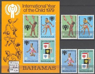 Child A36 MNH 1979 Bahamas 4+1 Toys