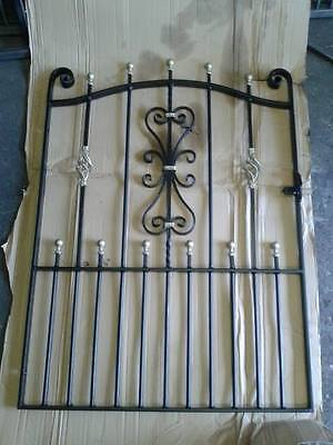 "Wrought Iron Gates Style 2 4ft heigh 38"" opening"