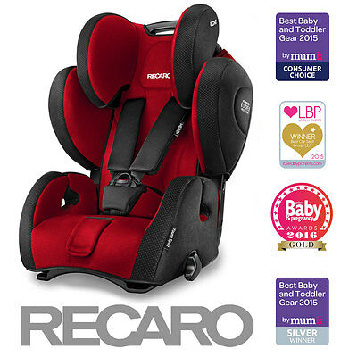 Recaro Young Sport HERO Group 123 Car Seat - Ruby (9m-12yrs / 9-36kg)