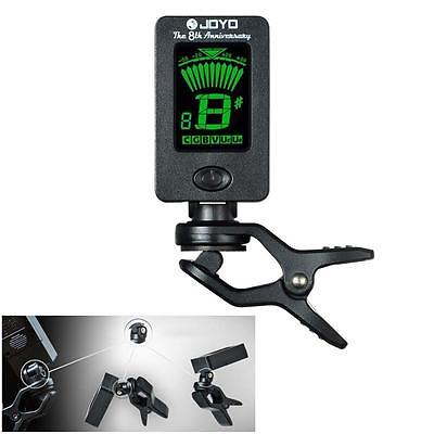 Digital Guitar Tuner LCD For Electronic Chromatic Violin Ukulele Bass Clip on WU
