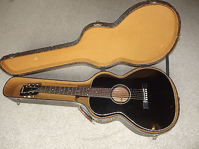 Gibson L00 1931 Small Body Guitar Black Incl. 2 Cases Parlour Parlor Not Martin