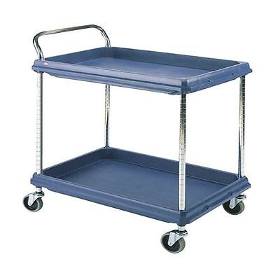 2 Tier Blue W832xD546mm Deep Ledge Trolley 310775 [SBY06244]