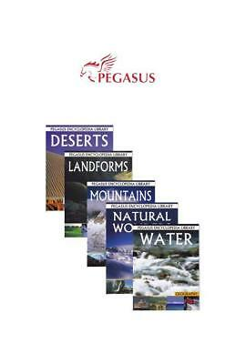 Set of 5 Encyclopaedia Books - Geography Series Kids Childrens Educational Ag...