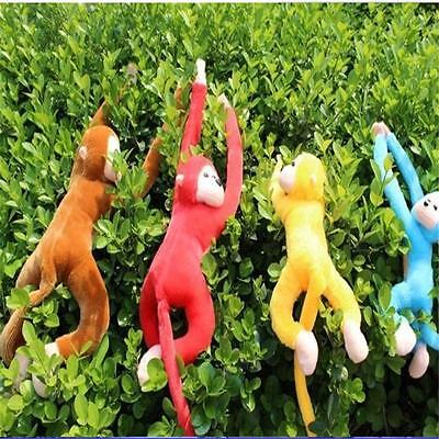 Long Arm Hanging Monkey Plush Baby Toys Stuffed Animals Soft Doll Kids Gift )AU