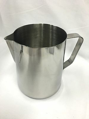 1.4L, 1400m Stainless Steel Milk Frothing Jug Pitcher Water Coffee Latte Art