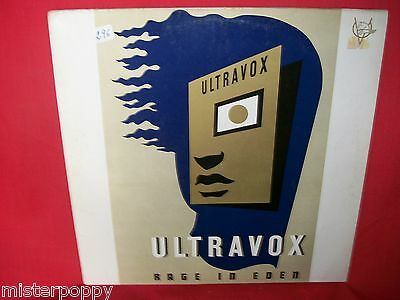 ULTRAVOX Rage in Eden LP 1981 GERMANY First Pressing EX