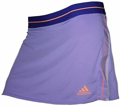 adidas Damen Tennis Rock S15769 ADIZERO SKORT lila orange NEU @132