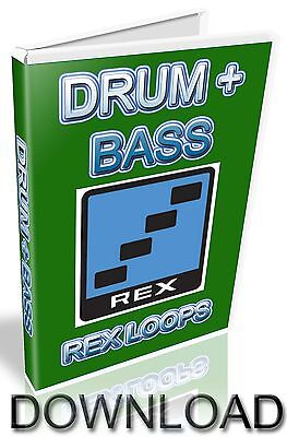 Drum + Bass Rex Loops - Reason Refill - Cubase - Pro Tools - Logic - Ableton
