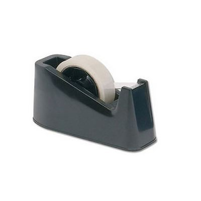 Q-Connect Large Tape Dispenser Black MPTDPKPBLK [KF11010]