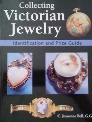 VICTORIAN JEWELRY ID VALUE GUIDE COLLECTORS BOOK 1837-1901 256 pages