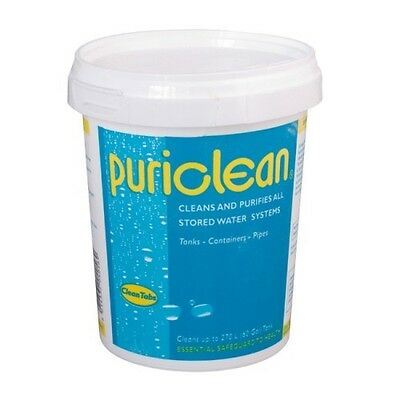 Puriclean 400g Tub Cleans and Purifies all stored water systems