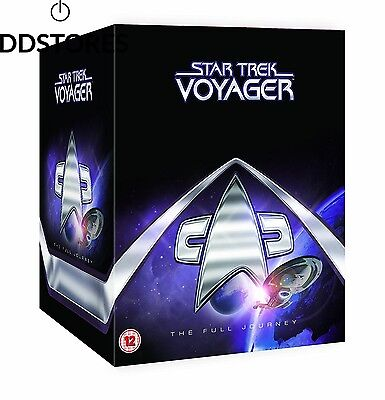 Star Trek Voyager The Complete Collection DVD Import anglais