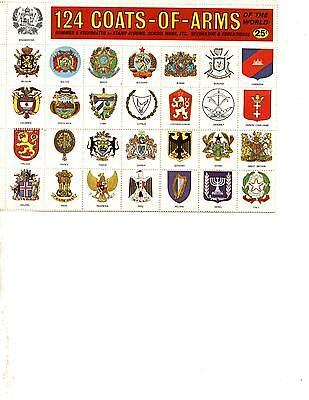 Coat Of Arms Sticker Collection (Series 0143)
