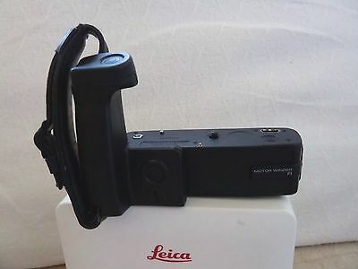 Leica R Motor Winder With Hand Grip