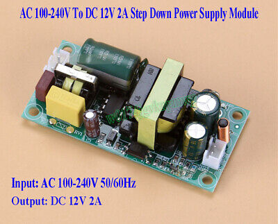AC-DC 100-240V To 12V 2A Buck Converter Isolated Step Down Power Supply Board