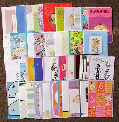 Job lot of mixed greetings cards (42)