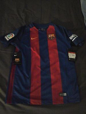 Maillot Neuf Fc Barcelone Taille 11-12 Ans
