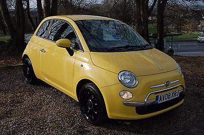Fiat 500 1.2  Pop  [factory upgrade]    2008 / 08 plate